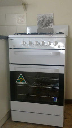 Chef Upright Gas Cooker