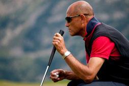 Janick Alidor, professeur de golf au golf des roucous