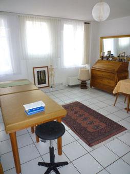 Studio au Passage des Augustins 8, 1700 Fribourg, © Mireille et Urs Neuhaus-Gachet, 2014
