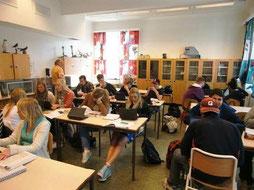 Projektarbeit an einer norwegischen Schule. Foto: Ehrig