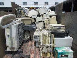 不要品回収のチラシ制作事例