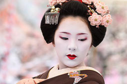 Geisha tipica intrattenitricegiapponese