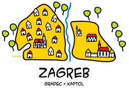 История Загреба