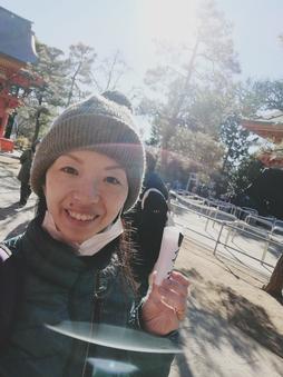 音叉ヒーリング講座通信プランの日本音叉ヒーリング研究会onsalaboのオンライン音叉ヒーリング講座の初詣