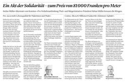 Solothurner Zeitung vom 11. Dez. 2020