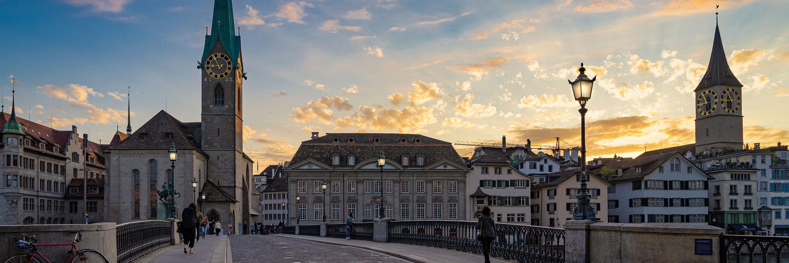 Freizeitaktivität, Zürich, Stadtbesichtigung