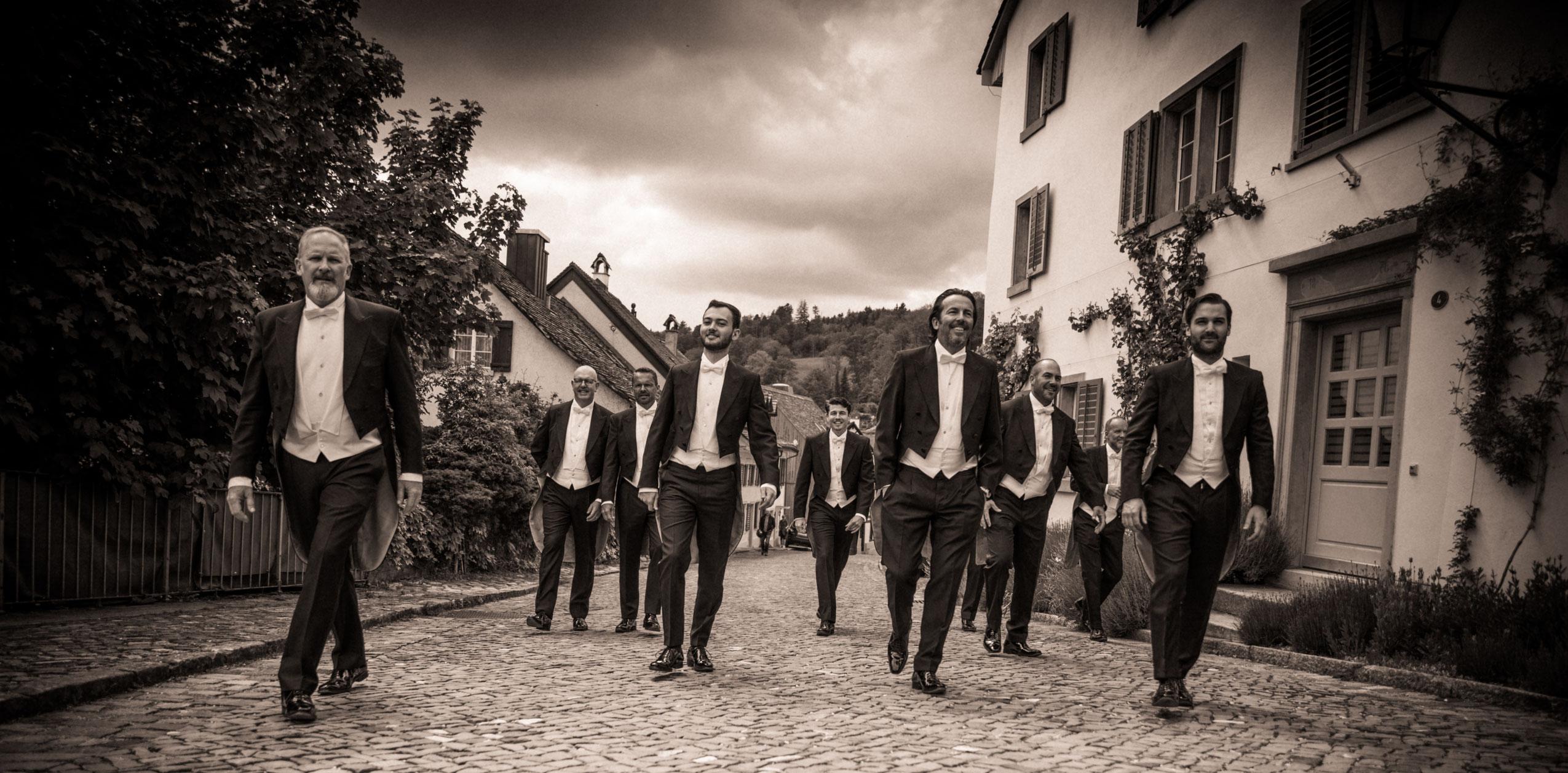 Sing&Dine nahe von Zürich, Zug, Luzern mit The Singing Pinguins