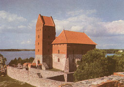 Lietuvos TSR. Trakų pilis.1977m. Nuotr. Z. Kazėno / Lithuania in the USSR. Trakai Castle. 1977. Photo Z.Kazėnas