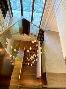 Kundenfoto - CUBIE-Cluster 36 von VISO Lighting - Kundenanfertigung 9 m