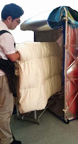ふんわり除菌「500円ふとんメンテナンスパック」スリープキューブ和多屋
