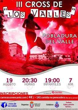 III CROS DE LOS VALLES - Pobladura del Valle, 19-08-2016