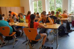 Impressionen zum Ostasien Projekttag an der Oberschule Bischofswerda