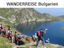 Trekking- und Wanderreise Bulgarien