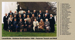 Goldene Konfirmation 1988
