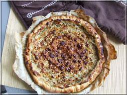 recette tarte noix et bleu