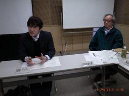 関谷協働アドバイザーと遠山代表