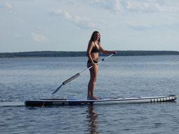 Stand up Paddling corona Ostsee urlaub