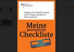 Ratgeber für Notfallvorsorge richtiges Handeln in Notsituationen -Checkliste - Lokale Agenda 21