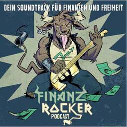 freaky finance, Finazrocker-Podcast Logo, Mannie das Maskotchen, Interview mit Vincent von freaky finance