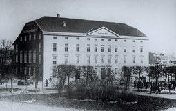 Berliner Hof um 1860