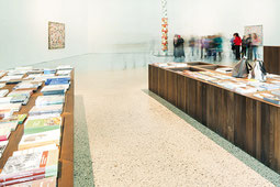Farbasphalt Colore Bianco, Landesmuseum Bregenz