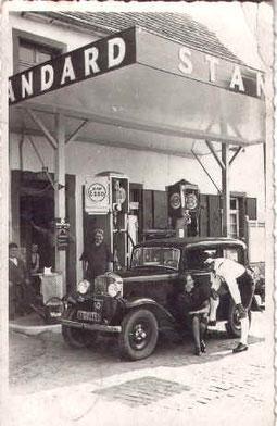 Der Übergang von Standard auf Esso, 1939