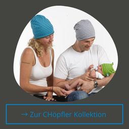 Die Chöpfler Kollektion wird von Hand genäht im Nähatelier in Geuensee bei Sursee. Renate Fischer ist die Designerin und entwirft immer wieder neue Kollektionen.