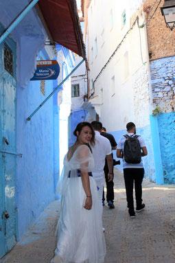 モロッコ旅行/フォトウェディング撮影/シャウエン♡
