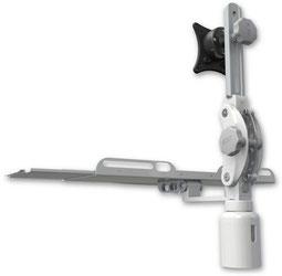 UL550シリーズ, モニターアーム, デスクマウント, カウンタートップマウント, ディスプレイ, キーボード, 医療, 医療機器, メディカル, メディカルモニター, ヘルスケア, 歯科, デンタル