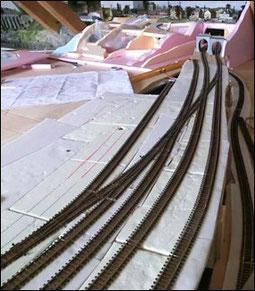 Abb. 52, endlich brauchbare Gleisanlage und keine Änderungsabsichten mehr!