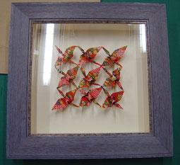 (1)  折り紙作品