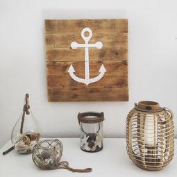 Objets de décoration en bois pour salon et salle à manger