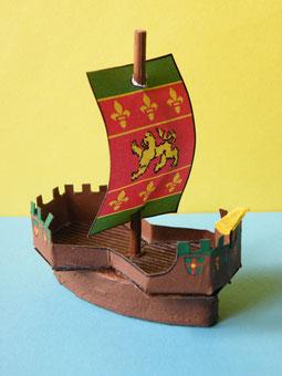 Lang- oder Segelschiff (Segler)