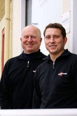 Bild Christian und Horst Schwenk Geschäftsführer