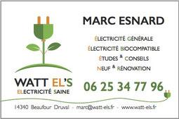 Cartes de visite WATT EL'S