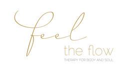 Logo, Feel the Flow, Körpertherapie, Massage, Yoga, Pilates, Personal Training, Coaching, Ernährung, Bern