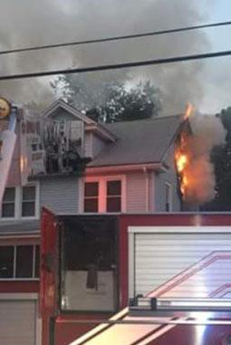 3 Alarm Fire - W Front St. Plainfield