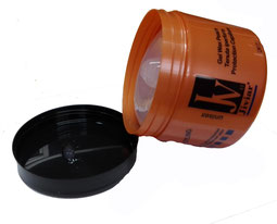 gomina de melocoton 500 ml. tarro