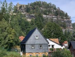 Oybin liegt im Zittauer Gebirge