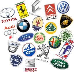 les logos de voitures pour Noel cadeaux