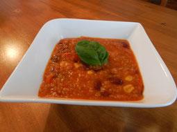 Bild: Claudia Homanner, ganzheitliche Ernährungsberatung, Rezept ohne Fleisch, Chili con Escanda verde