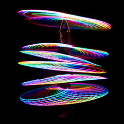 Satya Hoop Hula Hoops LED Hoops