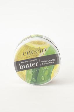 Burro: Limetta bianca & Aloe vera burro corpo mani piedi. -25€-