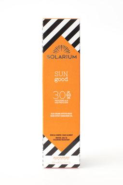 SunGood Rosso:  Olio solare effetto nudo 30. --30€--