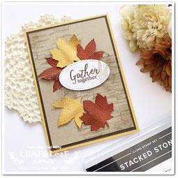 秋 手作りカード