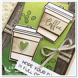 コーヒー 手作りカード