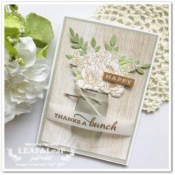 ハンドメイド メッセージカード