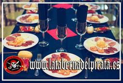 mesa para despedidas de solteros en Chiclana