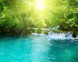 Wasserfall in Khao Lak