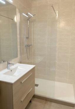 remplacement baignoire en douche à l'italienne